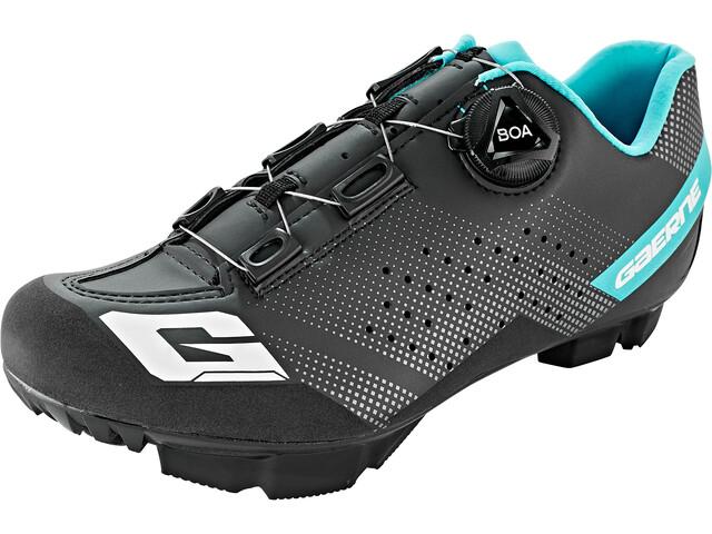 Gaerne G.Hurricane Buty rowerowe Kobiety, black/light blue